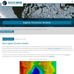 Digital Elevation Model, DEMs, 3D Mapping