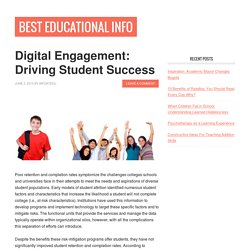 Digital Engagement: Driving Student Success