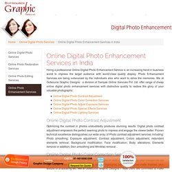 Photo Enhancement Services Provider in India