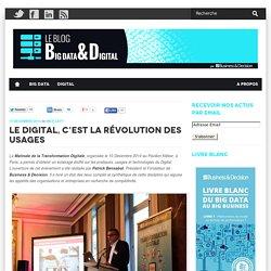 Le Digital, c'est la révolution des usages