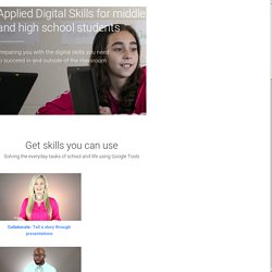 Learn Digital Skills to Solve Everyday Tasks - Applied Digital Skills
