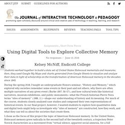 Using Digital Tools to Explore Collective Memory /