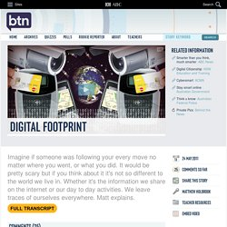 Digital Footprint: 24/05/2011, Behind the News