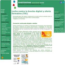 Lucha contra la brecha digital y oferta formativa (TIC) - Andr mines