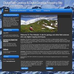 Digital Field Geology and Digital Geologic mapping