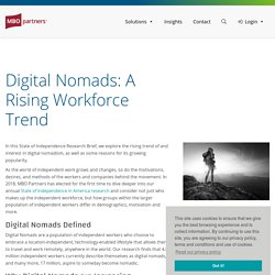 Digital Nomads: Who they are and why are they growing?