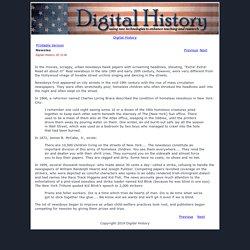 Newsies: Digital History