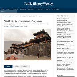 Digital public history with photographs - Public History Weekly