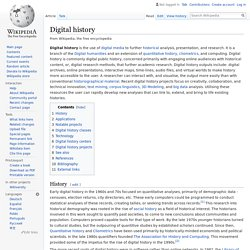 Digital history - Wikipedia