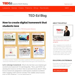 How to create digital homework that students love