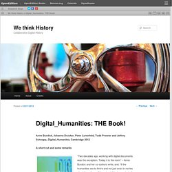 Digital_Humanities: THE Book!