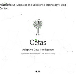 Cetas - Digital Identity, KYC, AML ,Financial Scoring