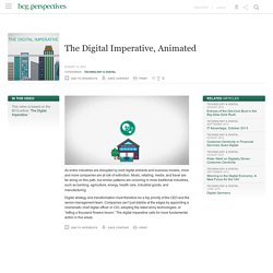 The Digital Imperative, Animated