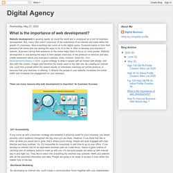 Digital Agency: What is the importance of web development?