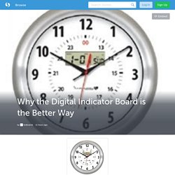 Why the Digital Indicator Board is the Better Way (with image) · ledboards