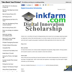 Blog: Digital Innovation Scholarship