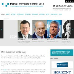 Digital Innovators' Summit: Home