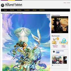 Digital Art Inspiration and Tutorials – The Round Tablet