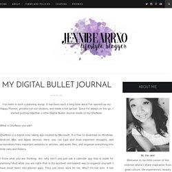 My Digital Bullet Journal - jennibearrxo