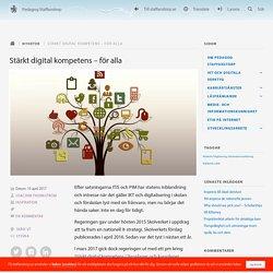Stärkt digital kompetens – för alla