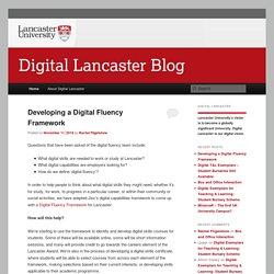 Lancaster University's Digital Vision