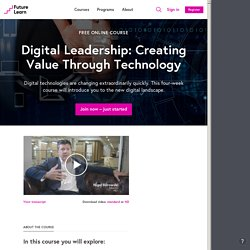 Digital Leadership - University of Reading