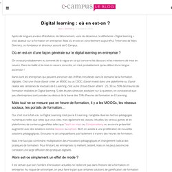 Le blog de C-CampusLe blog de C-Campus