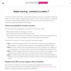 Digital learning : comment s'y mettre ?