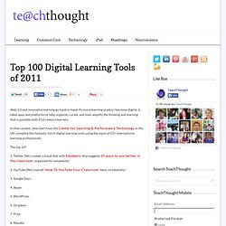 The Top 100 Digital Learning Tools of 2011