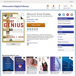 Digital Books - Discover Your Genius