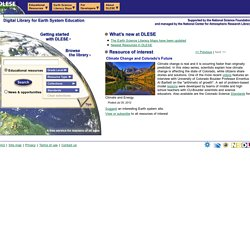 Digital Library for Earth System Education