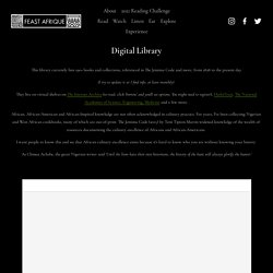 Digital Library — Feast Afrique