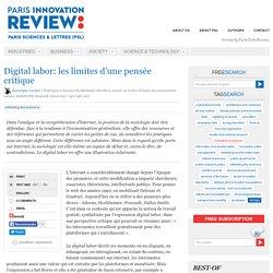 Digital labor: les limites d'une pensée critique