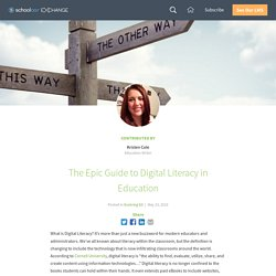 The Epic Guide to Digital Literacy in Education