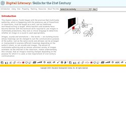 Digital Literacy: Skills for the 21st Century: Introduction