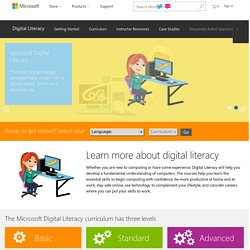 Digital Literacy Overview