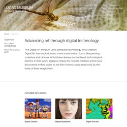 Digital Art - The Lucas Museum of Narrative Art