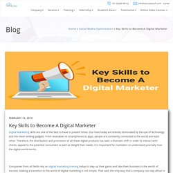 Key Skills to Become A Digital Marketer