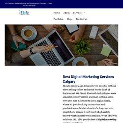 Top Digital Marketing Agencies in Calgary