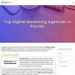 Top Digital Marketing Agencies in Florida