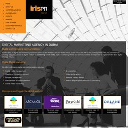 Digital Marketing Agency in Dubai, UAE – IrisPR.net