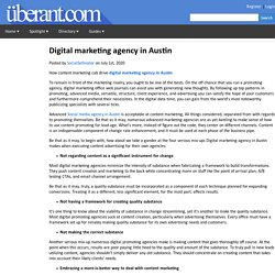 Digital marketing agency in Austin