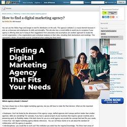 How to find a digital marketing agency? by Emily Ela