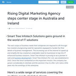 Rising Digital Marketing Agency steps center stage in Australia and Ireland