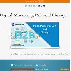 Digital Marketing, B2B, and Chicago