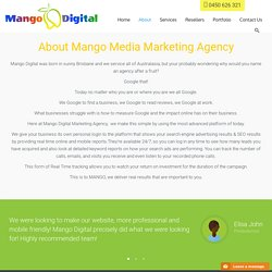 Mango Digital Marketing Agency Brisbane