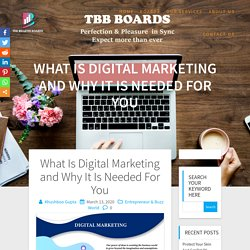 What Is Digital Marketing and Why It Is Needed For You