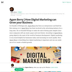 How Digital Marketing can Grow your Business