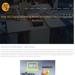 How SEO Digital Marketing Works and How It Can Improve Your Business