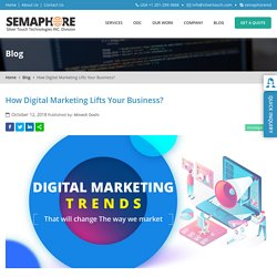 How Digital Marketing Lifts Your Business? - Home